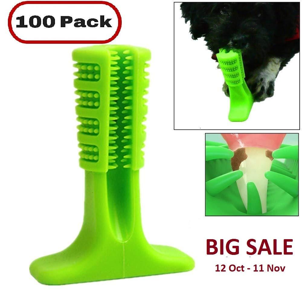 Amazon.com: Palo de cepillo para perros, cepillo de dientes ...