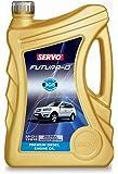 Servo Futura D 15W-40 API CI4 Diesel Engine Oil for Car (4 L)