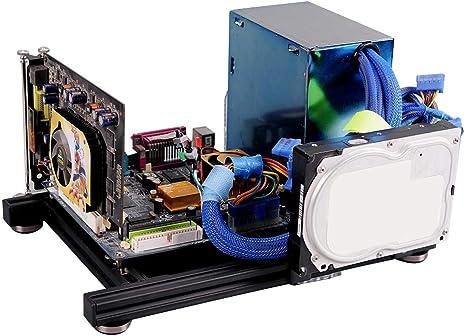 Caja de marco abierto de bricolaje, carcasa de PC de computadora ...