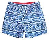WUAMBO Men's Sports Runnning Swim Board Shorts with Pocket,Mesh Lining, #5 Lightblue, Tag X-Large (Waist:31''-33'')