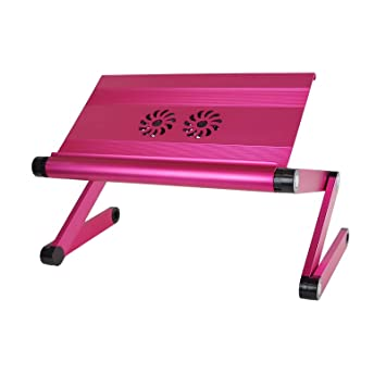 Laptoptisch Notebooktisch Betttisch Faltbar Notebook Laptop Ständer USB Lüfter