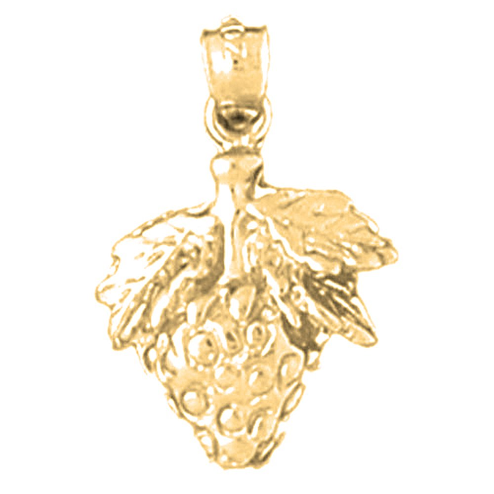 Jewels Obsession Strawberry Necklace 14K Yellow Gold-plated 925 Silver Strawberry Pendant with 16 Necklace
