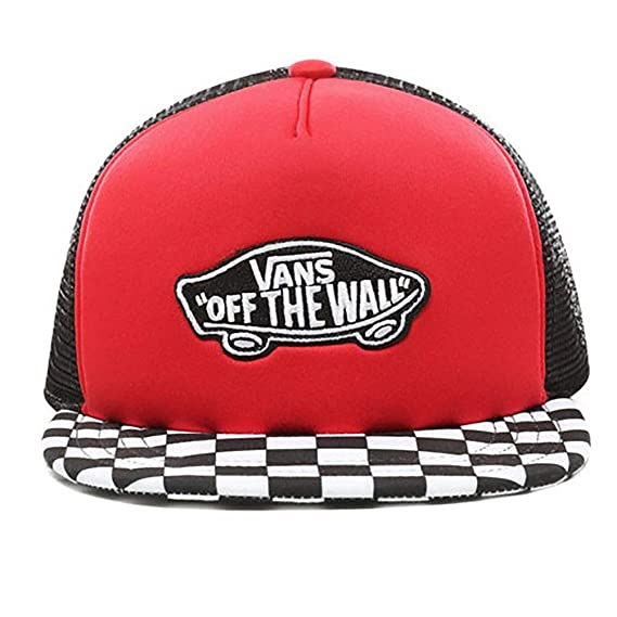 f599b1a5c339c Vans Classic Patch Trucker Plus Boys Cap  Amazon.co.uk  Clothing