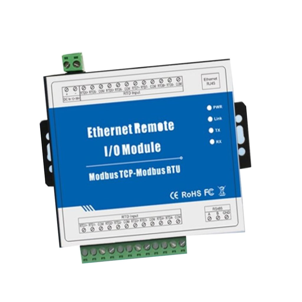 MagiDeal M240T Modbus TCP Ethernet Remote IO Module (4DO sink Output+RJ45+RS485), Industrial Uses