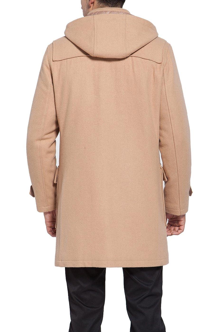 Regular Big /& Tall BGSD Mens Benjamin Wool Blend Classic Duffle Coat