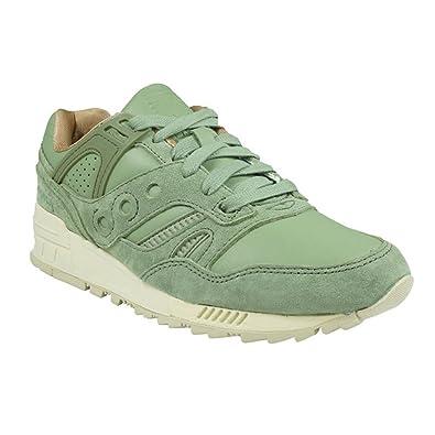 Saucony Originals Grid Sd Premium Public Garden, Men's Sneakers, Olive, 7 UK  (