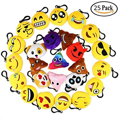 Review Dreampark Emoji Keychain Mini