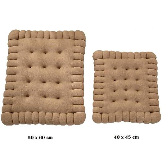 Amazon.com: Warm Biscuits Mat, cojín cuadrado grueso de ...
