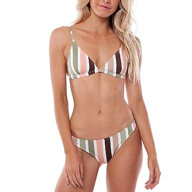 Aiweijia Traje de baño Bikini Hinchable Dividido para Mujer Traje ...