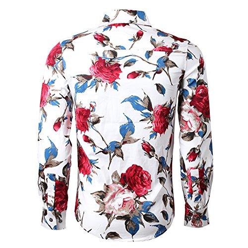 BTclassics BT.Classics Mens Cotton Short Sleeve Polka Dot Polo Shirts Slim Fit