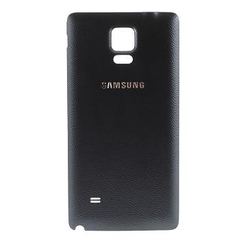 BEST2MOVIL Tapa DE BATERÍA Back Cover Color Negro Compatible con Samsung Galaxy Note 4 N910F