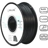 PRILINE Polycarbonate 1.75 3D Printer Filament, Dimensional Accuracy +/- 0.03 mm, 1kg Spool, 1.75 mm,Black