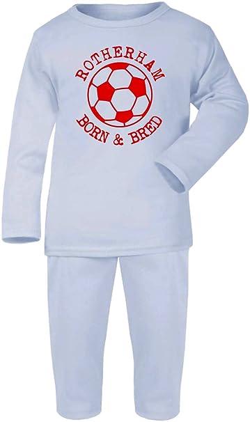 ROTHERHAM Football Personalised Baby//Child T-Shirt
