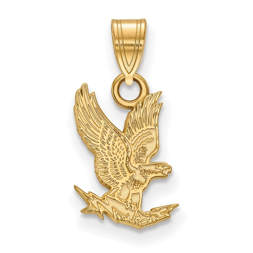 10k Yellow Gold United States Air Force Academy Falcons School Mascot Pendant