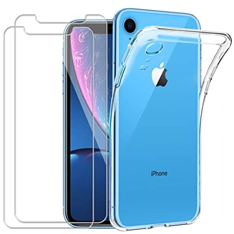 coque iphone xr verre trempe