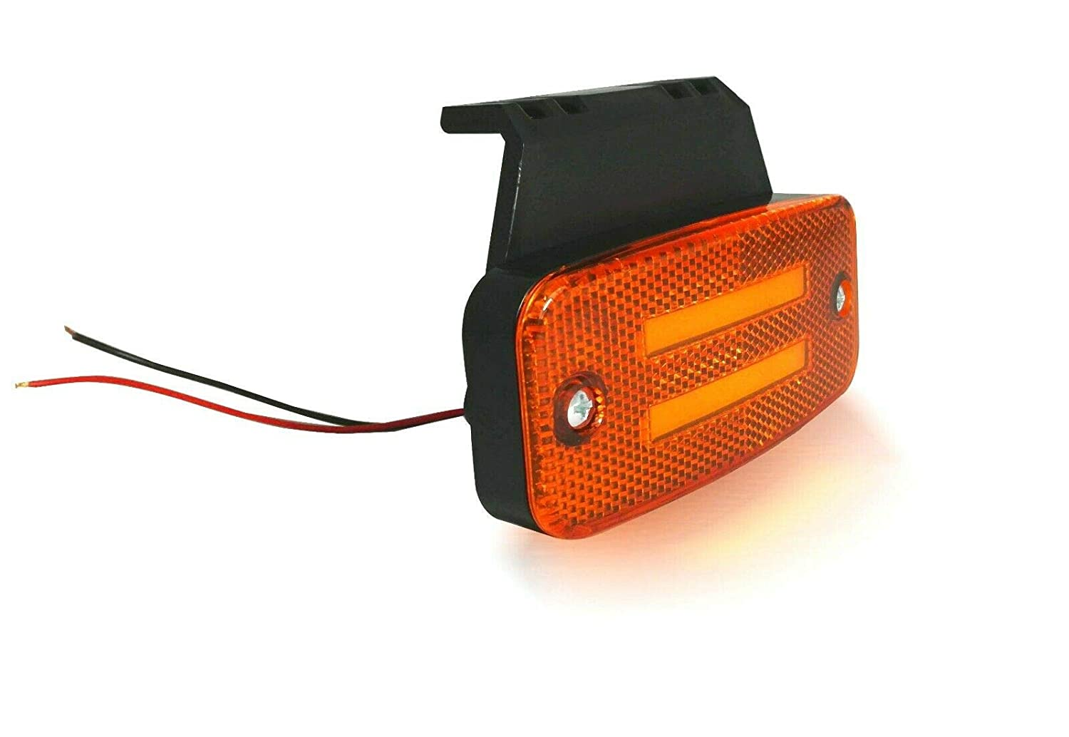flexzon 10 Amber led neon side marker lights 12-24v lamp truck trailer lorry chassis bus
