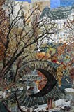 Mozaico - Central Park Scene Mosaic Mural Artwork Design MS246
