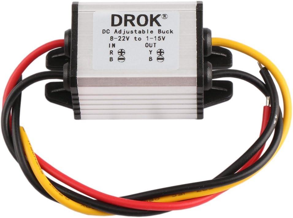 LED 12v rojo 8mm metal versión cóncava señal lámpara lámpara de señal luz piloto