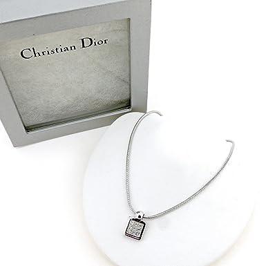 best service 60bb2 e1012 Amazon.co.jp: (ディオール) Christian Dior ネックレス ...