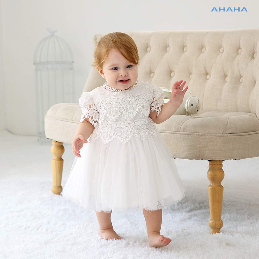 0-2 anni Dream Rover Abiti da Battesimo per le Neonate Principessa Abito da Sposa per Bambini Festa di CompLeanno Abiti