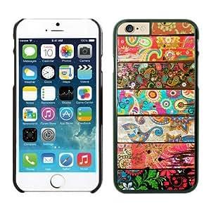 Iphone 6 Plus Case 5.5 Inches, Beautiful Aztec Designs Black Hard Phone Cover Case for Apple Iphone 6 Plus
