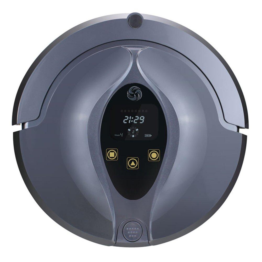 MIAO@LONG Robot Aspirador Inteligente Limpiador Autocargador & Sensor De Caída Para Pelo De Mascota Escombros Y Suciedad Diseñado De Trapeador Inteligente: ...