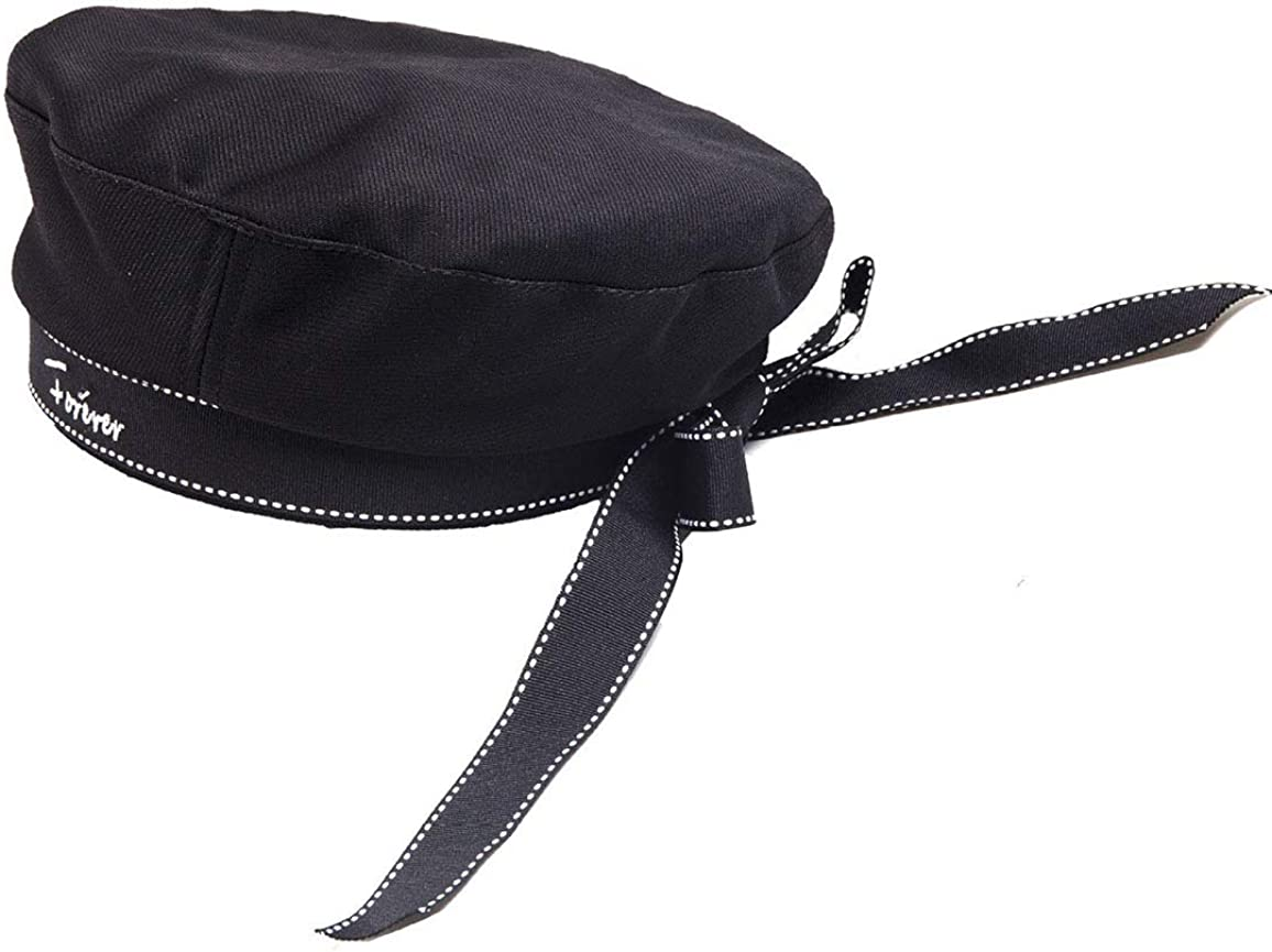 IZUS French-Beret-Hats Bow-Navy-Sailors Painter Hat for Womens