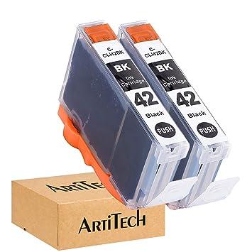Amazon.com: ArtiTech CLI-42 BK Pixma Pro-100 - Cartuchos de ...