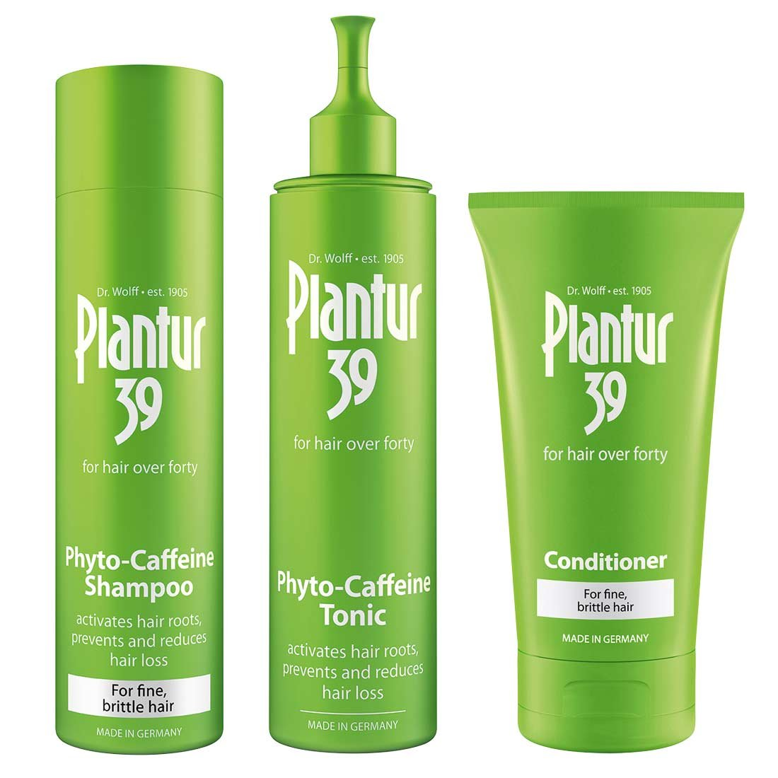 Plantur 39 Phyto-Caffeine Shampoo and Conditioner for Fine and Brittle Hair Dr. Kurt Wolff