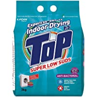 TOP Powder Detergent Super Low Suds, Anti-bacterial, 3kg