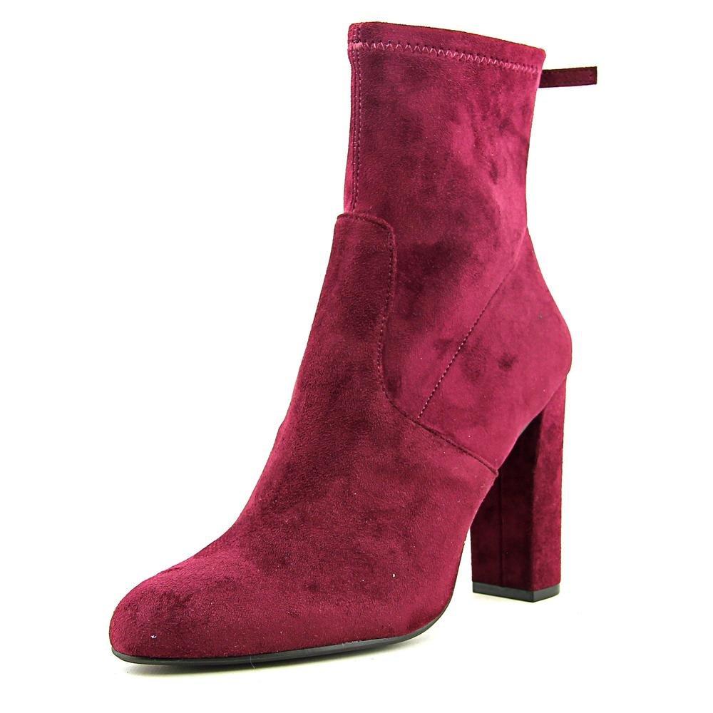 Steve Madden Women's Brisk Ankle Bootie B01M2X3TKW 6.5 B(M) US|Burgundy Velvet