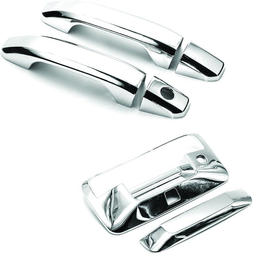 400440 Putco For 14-17 Silverado//Sierra Exterior Door Handle Cover-Chrome