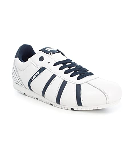 Zapatillas Levis New Almayer 40 Blanco: Amazon.es: Zapatos y complementos
