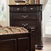 247SHOPATHOME Idf-7129C Drawers, chest, Walnut
