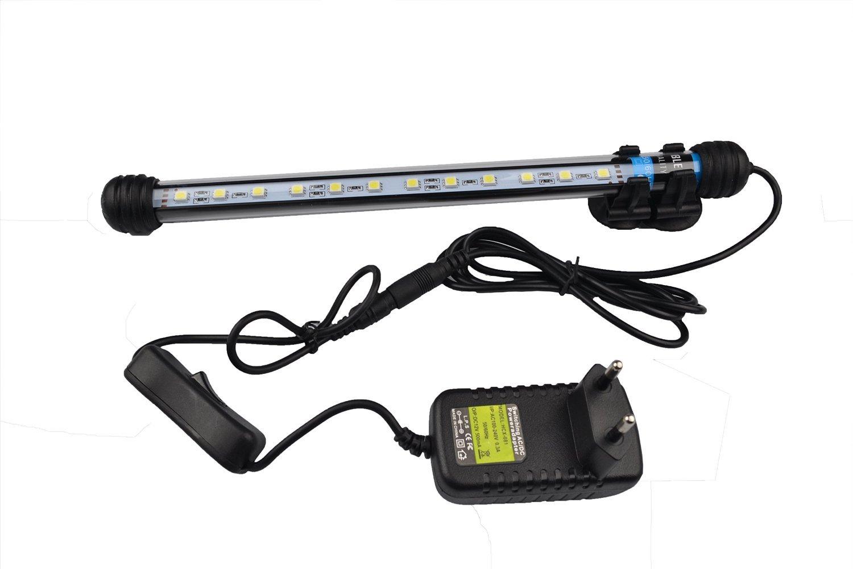 Lampe Lumière Aquarium Poisson 2w 5050 Plug Led 28cm Eu Etanche Runqiao Blanche 12 Smd wXlPZOkiuT