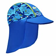 HUAANIUE Baby Toddler Sun Protection Hat UPF 50 + Flap Hat