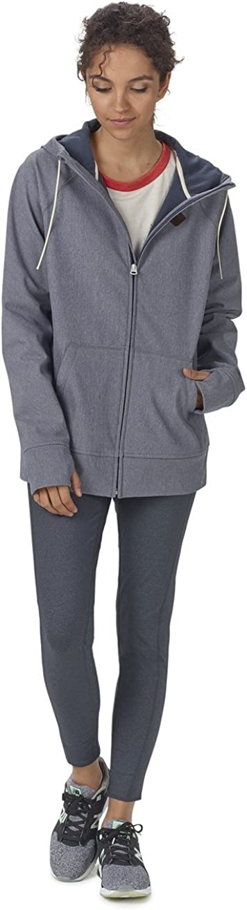 Burton Damen Scoop Hoodie Fleecepullover Denim Heather