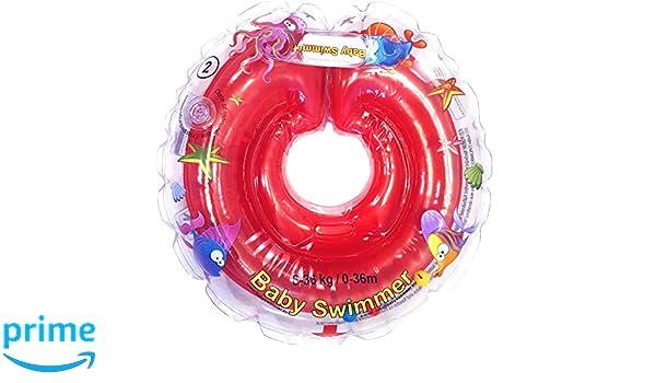Infant Natación Flotador Inflable Anillo de Seguridad ...