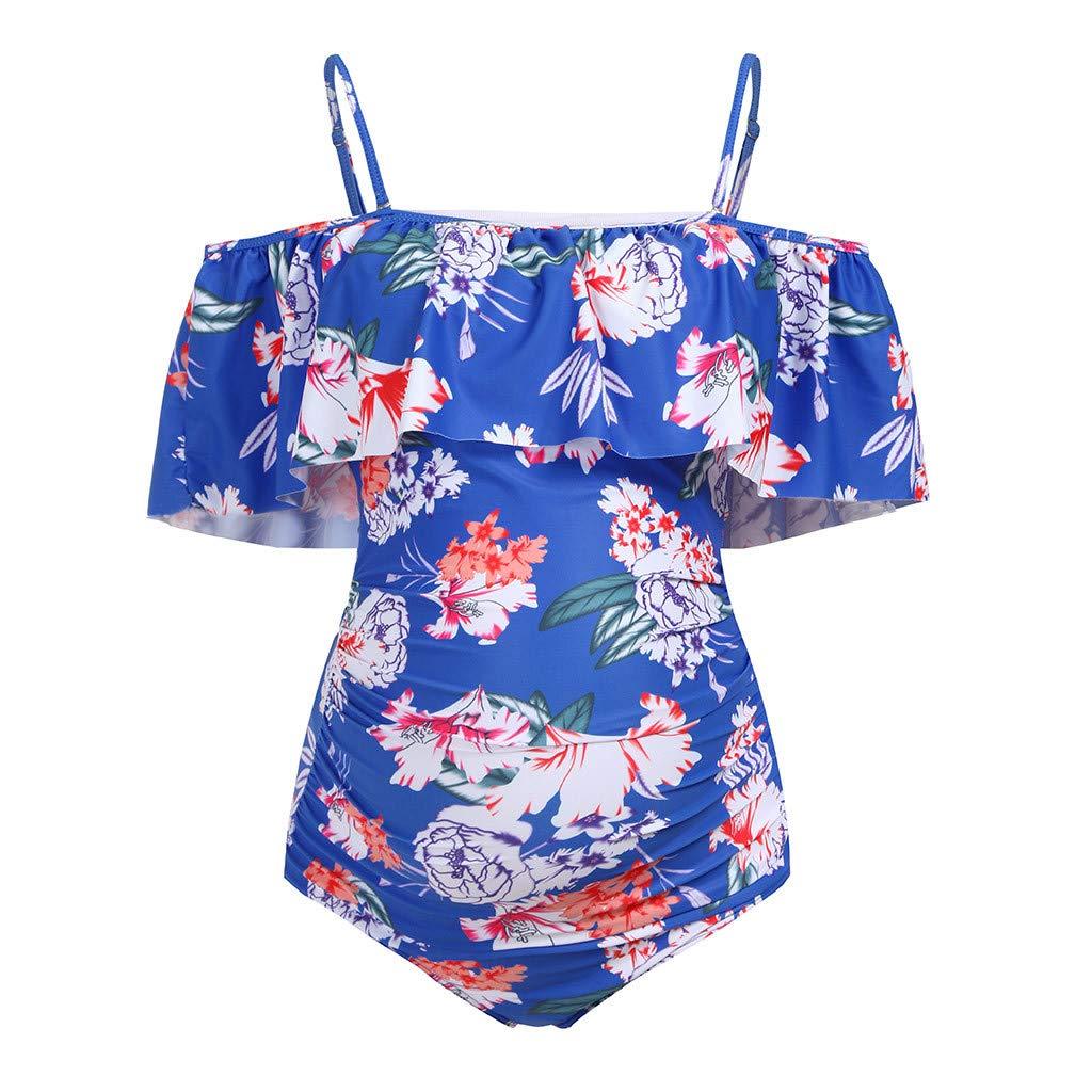 Cinnamou Trajes de Ba/ño Mujer Tankini Premama Bikini Deporte Mujer Ba/ñador Embarazada Natacion