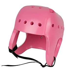 Physical Therapy Aids 82164 Danmar Products Soft Shell Helmet, Medium, Pink Helmet