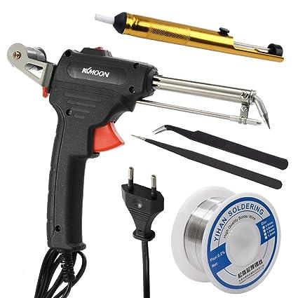 KKmoon 60W 110-230V Máquina de Soldadura Manual Juego de Plancha Eléctrica para el Hogar