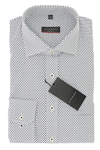 ETERNA Comfort Fit Herren Hemd langarm mit New Kent Kragen bügelleicht Gr. 45