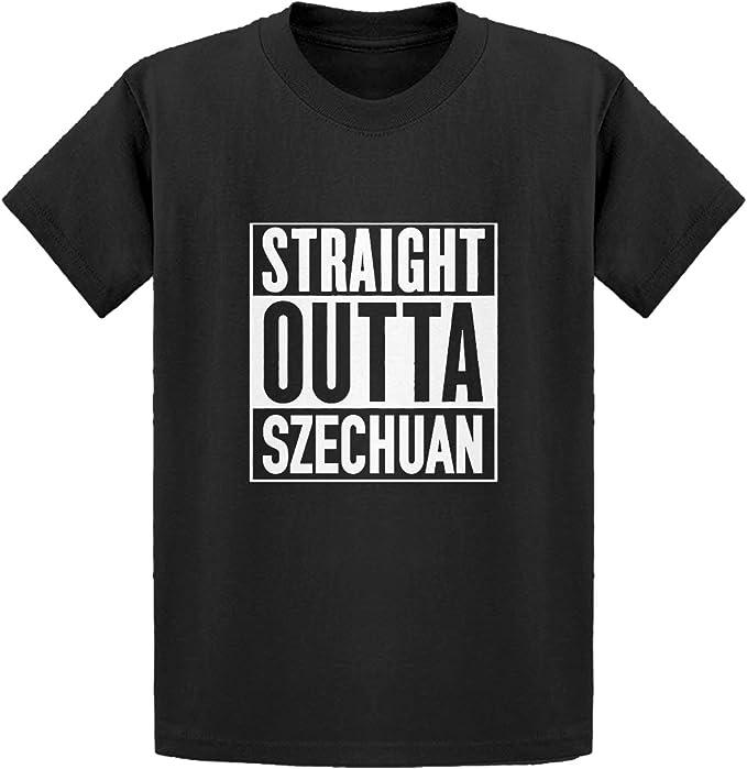 Indica Plateau Youth Straight Outta Szechuan Kids T-Shirt