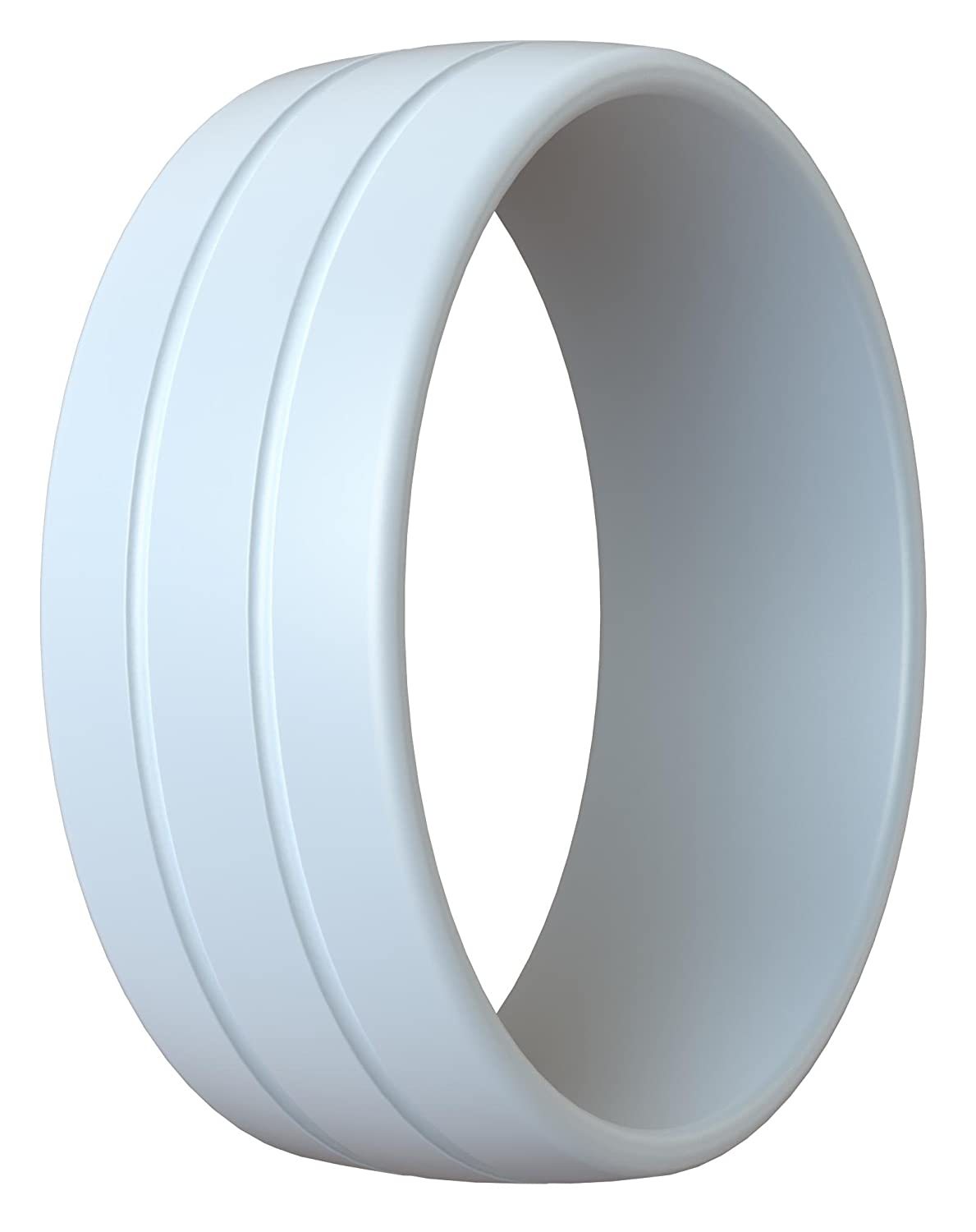 Slimfit Silicone Wedding Band Silicone Rings for Men