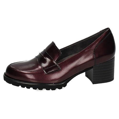 Pitillos 1390 Zapato DE Pitillos Mujer Zapatos TACÓN Burdeos 36: Amazon.es: Zapatos y complementos