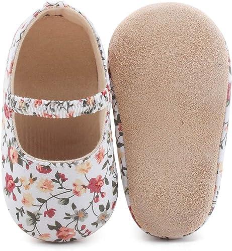 DELEBAO Chaussures B/éb/é Chaussons B/éb/é Cuir Souple Chausson Enfant Chaussures Premiers Pas Cuir Souple B/éb/é Fille Chaussures B/éb/é Gar/çon
