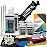 Concrete Foundation Crack Repair Kit - Ultra-Low Viscosity Polyurethane - FLEXKIT-1150-20