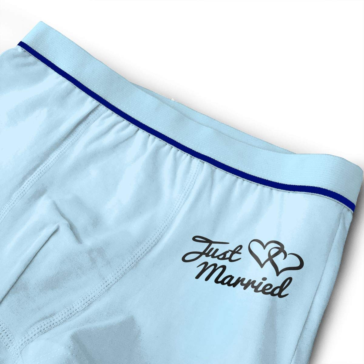 Raingningsning Just Married Teenage Cotton Boxer Briefs Underwear
