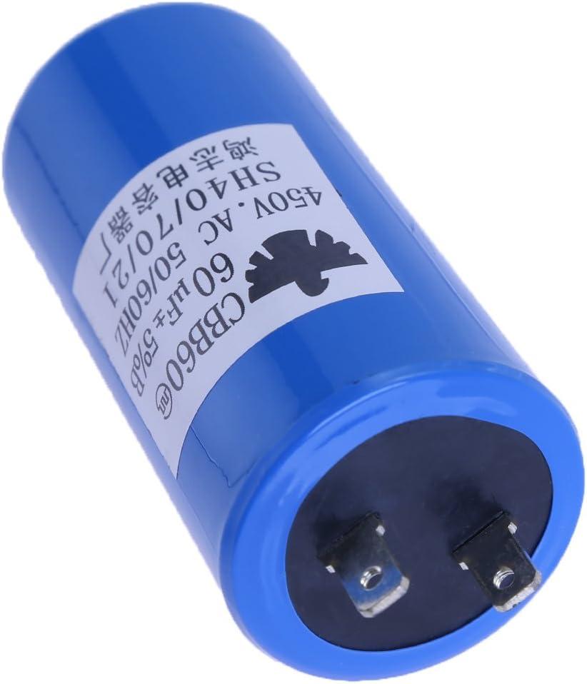 CBB60 Motor Run Capacitor 60 μF , 60 uF 50//60Hz 1 pc 60 microfarad 450VAC