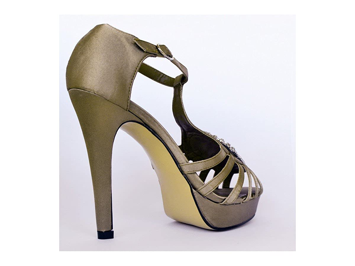 b94afb53 Paula Soler - Sandalias con tacón: Amazon.es: Zapatos y complementos